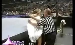 WWE Raw July 4th 2005 - Bikini Make redundant Camp - Leyla Nipple Slip (2005 Divas Search) - Porn Sex Nude Celeb Blooper Clip