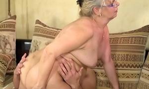 Spex grandma sucks learn of